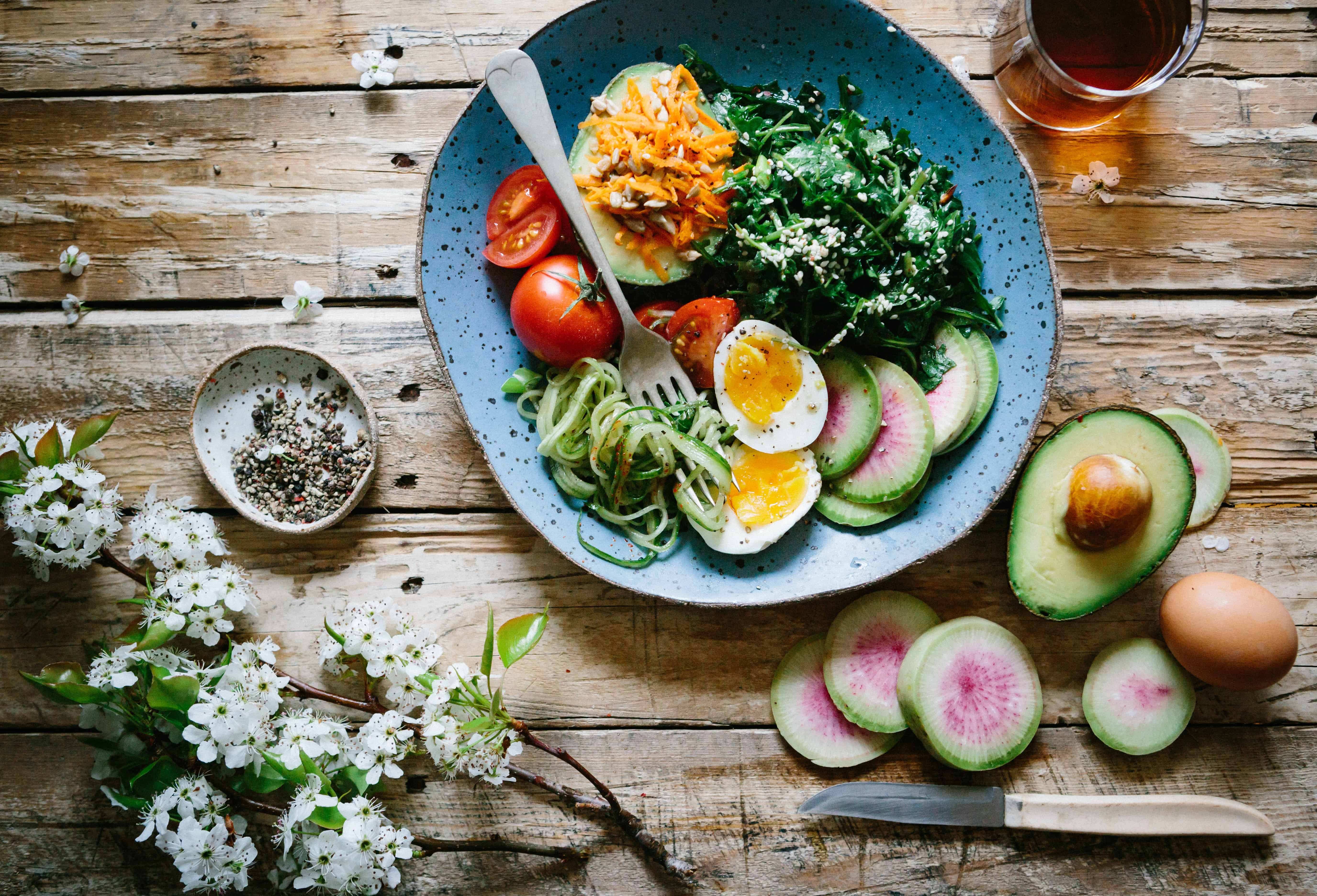 healthy and alternative food options