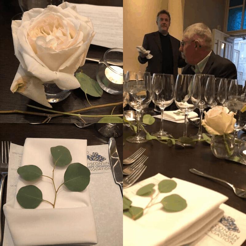 Dinner Table Presentation
